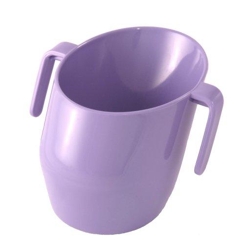Doidy Cup 10111 der gesunde Trinklernbecher, flieder - Kleine Ton-cups
