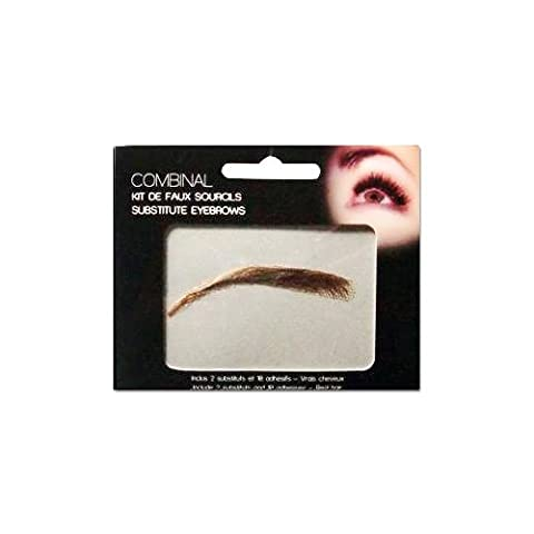 Kit de faux sourcils Chatain Combinal