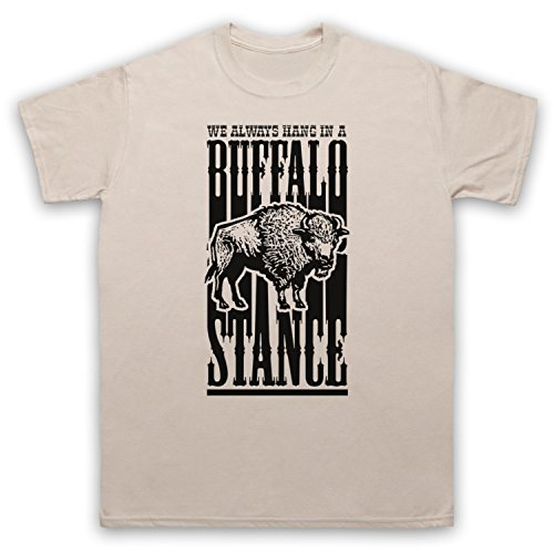 Inspiriert durch Neneh Cherry Buffalo Stance Unofficial Herren T-Shirt Beige