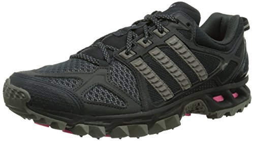 adidas Performance Kanadia Trail 6, Chaussures de trail mixte adulte Noir (Night Grey/Granite/Solar Pink)