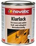 Novatic Boots-Klarlack (Seidenglänzend), Farblos 750Ml