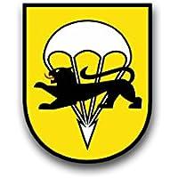 Aufkleber//Sticker FschJgBtl 272 Wappen Abzeichen Fallschirmjäger 7x6cm A787