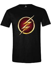 The Flash Logo 3D T-Shirt schwarz