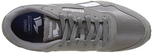 Reebok Royal Ultra, Baskets Basses Homme Gris (Solid Grey/White)
