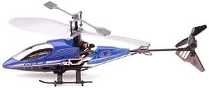 Silverlit - 84618 - Radio Commande Véhicule Miniature - I/R Sky Wizard - Smart Control + TX - 3 Canaux Gyro - Bleu
