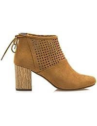 Maria Mare 66131 - Zapatos de Vestir para Mujer, Color Cuero, Talla 41 Maria Mare