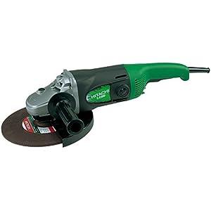 Hitachi G23SR – Amoladora angular (46,2 cm, 4,31 kg) Negro, Verde