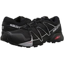 Salomon Hombre L39841300 Zapatillas de Trail Running Negro Size: 8