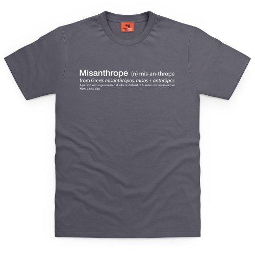 Misanthrope T-Shirt, Herren Anthrazit