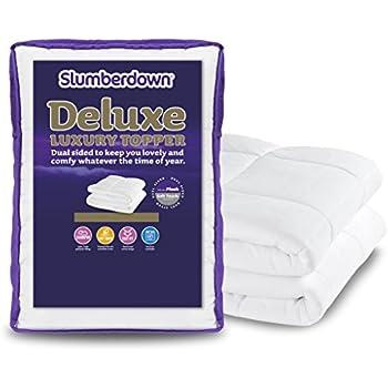 Slumberdown Airstream Mattress Topper White Double Bed