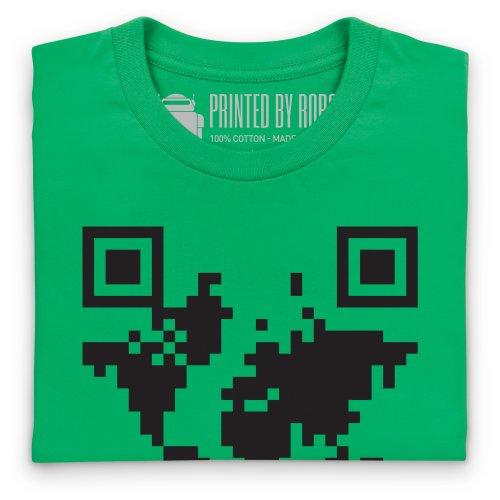 QR Earth T-Shirt, Herren Keltisch-Grn