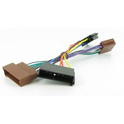 iso-car-radio-audio-adapter-connector-cable-for-ford-jaguar-lincoln-mercury-mazda-nissan-1996-2001