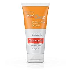 Neutrogena Rapid Clear Oil-Eliminating Foaming Cleanser, 177ml