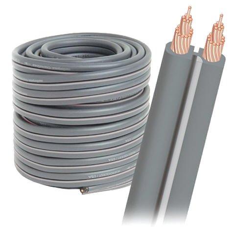 Audioquest Lautsprecherkabel G2 weiß, Rolle 9 m Audioquest Kabel Weiß