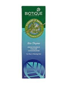 BIOTIQUE THYME FRESH SPARKLE REVITALIZING CONDITIONER ECOPACK 1000ML