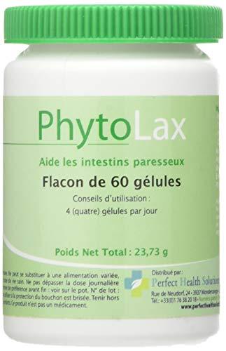 Phytolax 60 gél. - Troubles gastriques - Prune, basilic, tamarin, bourdaine - Phyto - Complément...