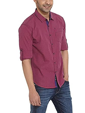 The Indian Garage Co. Men Slim Fit Cotton CASUAL SHIRT