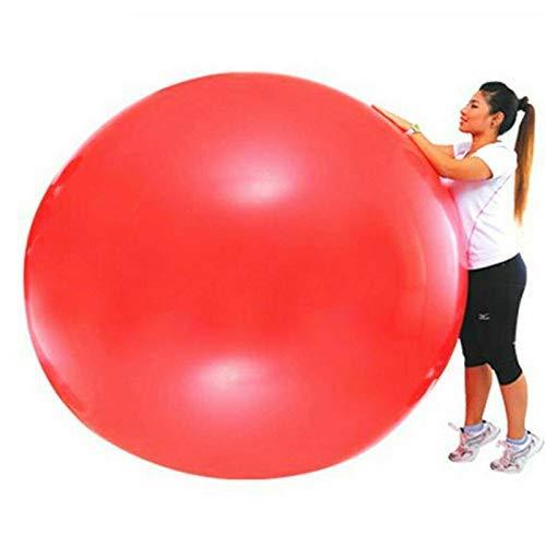 JeromKewin 72 Zoll Latex Riesiges Luftballon Big Groß Luftballons für Lustig Spiel, Hochzeit/Geburtstagsparty Festivals Weihnachtsdekorationen - Balloon