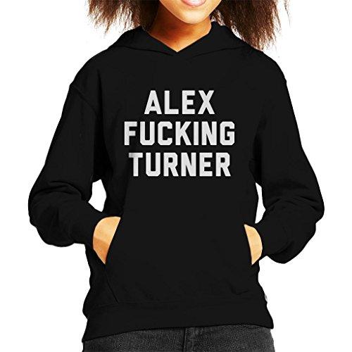 Cloud City 7 Alex Fucking Turner Kid's Hooded Sweatshirt