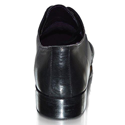 Gucinari , Chaussures de ville à lacets pour homme Marron marron 0-6 mois Noir À Lacets