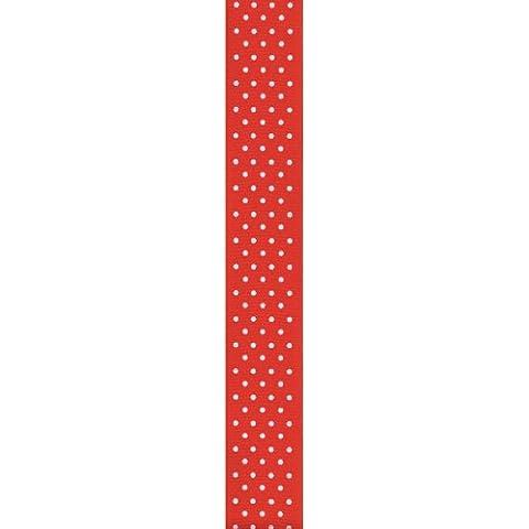 Offray Ribbon Swissdot Craft Grosgrain 5/8