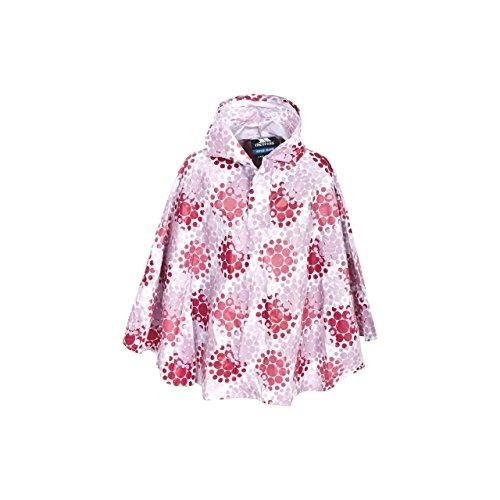 trespass-fairy-giacca-poncho-impermeabile-ripiegabile-bambina-taglia-unica-rosa