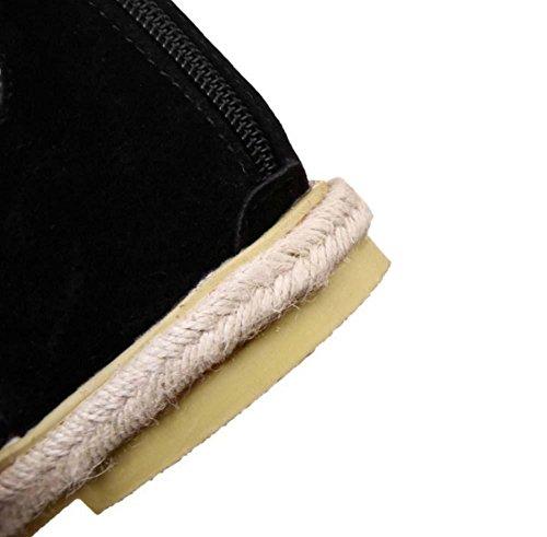 NobS Cinghie Piatte Scarpe Romani Donne Grandi Sandali Il Formato 40-47 Grey