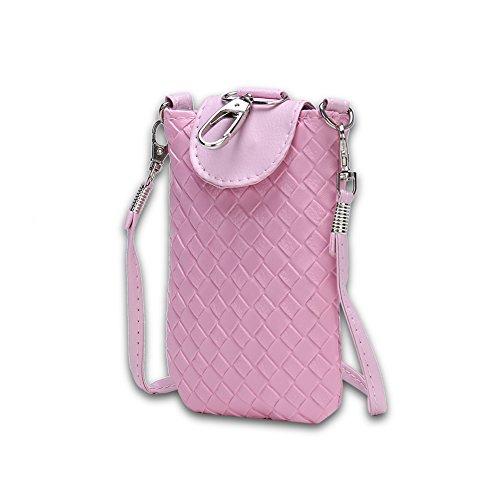 Faysting EU donna borselino borsa a tracolla borsa a spalla borsa a cellulare piccola forma fashion stile conveniente pelle materiale buon regalo san valentino F