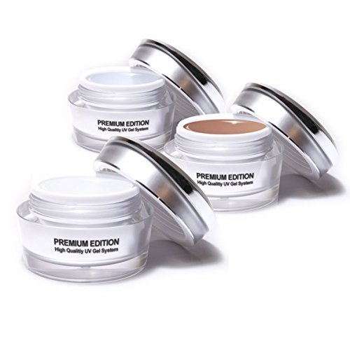 Studiomax Set 3 x 15 ml de Gel fibre de verre