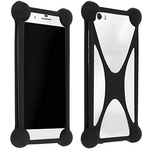 Mocca - Bumper Silicone Antichoc Universel Smartphone - Noir