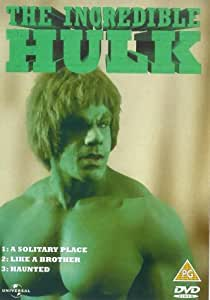 The Incredible Hulk: A Solitary Place/Like A Brother/Haunted [DVD] [1978]