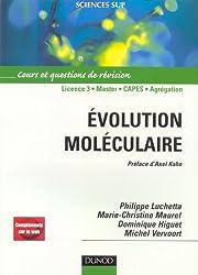 Evolution moléculaire : Cours et questions de révisions