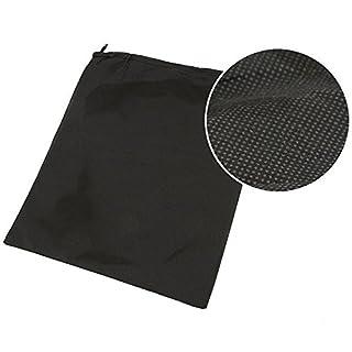 asentechuk® 100Dick Vlies Travel Aufbewahrungstasche für Schuhe Tuch Anzug Organizer BH Fall Garment galocha Verpackung Cubes umfasst die Tasche für Toys, schwarz, 35x29cm