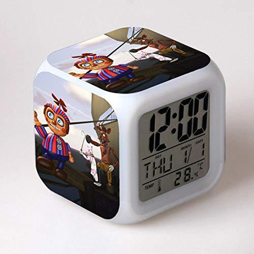 Running man123 store Despertador Infantil mesita de Noche Despertador Despertador Digital Despertador...