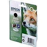 Epson Stylus SX 130 (T1281 / C 13 T 12814011) - original - Inkcartridge black - 170 Pages - 5,9ml