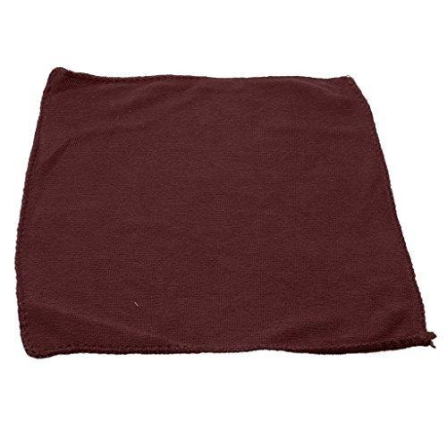Handtuch, Billard Queue Pflegehandtuch - Pool Billiard Cue Towel, Reinigungstuch - Kaffee