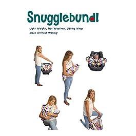 Snugglebundl- die Babydecke mit Griffen