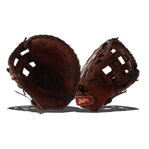 Shoeless Jane 33 cm 1300 FPFB Fastpitch Softball First Base Mitt, braun -