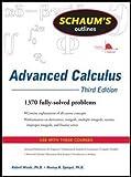 Schaum's Outline of Advanced Calculus, Third Edition (Schaum's Outlines)