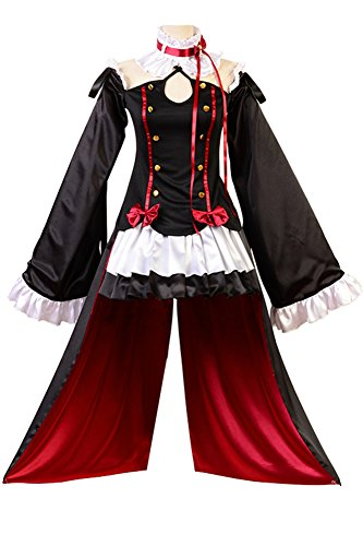 Krul Tepes Kostüm Cosplay - FUMAN Seraph of The End Vampires Krul Tepes Uniform Cosplay Kostüm M