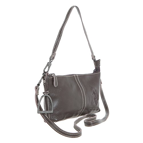 U.S.POLO. ASSN Handtasche mit Bügel - Mod. US15W17L-17 Braun