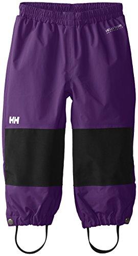 Helly Hansen Kinder K Shelter Pant Wasserdichte Hose, Violett-(Acai), 122/7