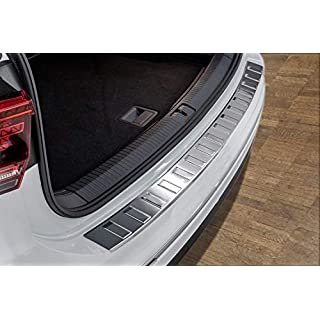 TIGUAN/TIGUAN ALLSPACE Stainless Steel Chrome Rear Bumper Protector Scratch Guard
