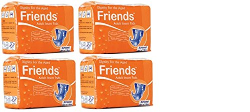 Friends Adult Inserts (15 Count) pack of 4