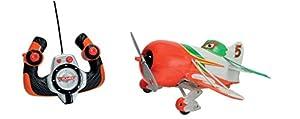 Dickie-Spielzeug 203089805 RC Disney Planes - Avión radiocontrol (2 Canales), diseño de Ripslinger, Color Verde