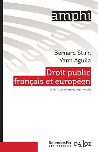 Droit public français et européen par Bernard Stirn