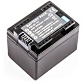 Batterie compatible pour Canon iVIS HF M51, HF M52, HF R30, HF R31, HF R42, LEGRIA HF R506, HF R56, HF R57, HF M506, HF M52, HF M56, HF M60, HF R306, HF R36, HF R37, HF R38, HF R406, HF R46, HF R47, HF R48, VIXIA HF M50, HF M500, HF M52, HF R30, HF R300, HF R32, HF R40, HF R400, HF R42