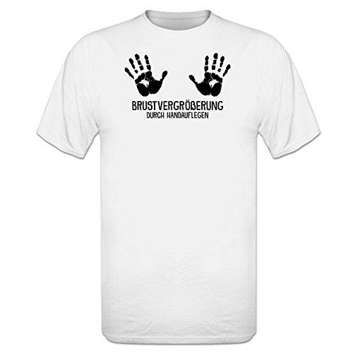 Shirtcity Brustvergrößerung durch Handauflegen T-Shirt by