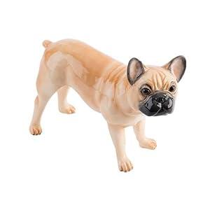 John Beswick Pampered Pooch Fawn French Bulldog Dog Ornament Figure