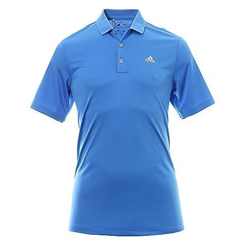 Adidas performance LC T-Shirt Polo à manches courtes de Golf, homme S bleu